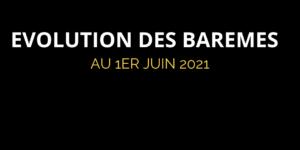 Evolution des barèmes de pneus au 1er juin 2021